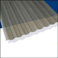 Shop Corrugated Roofing 12-ft Suntuf Smoke Polycarbonate