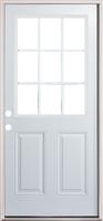 Door Unit Steel 9 Lite 3068 Lh Open In 4 5 8 Quot Fj Jambs